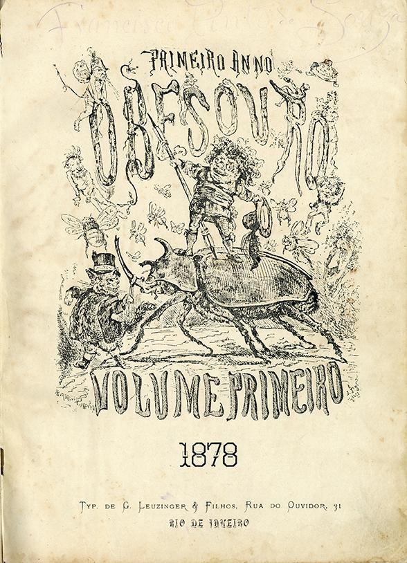 Jornal O Besouro, Primeiro no, Volume Primeiro, 1878